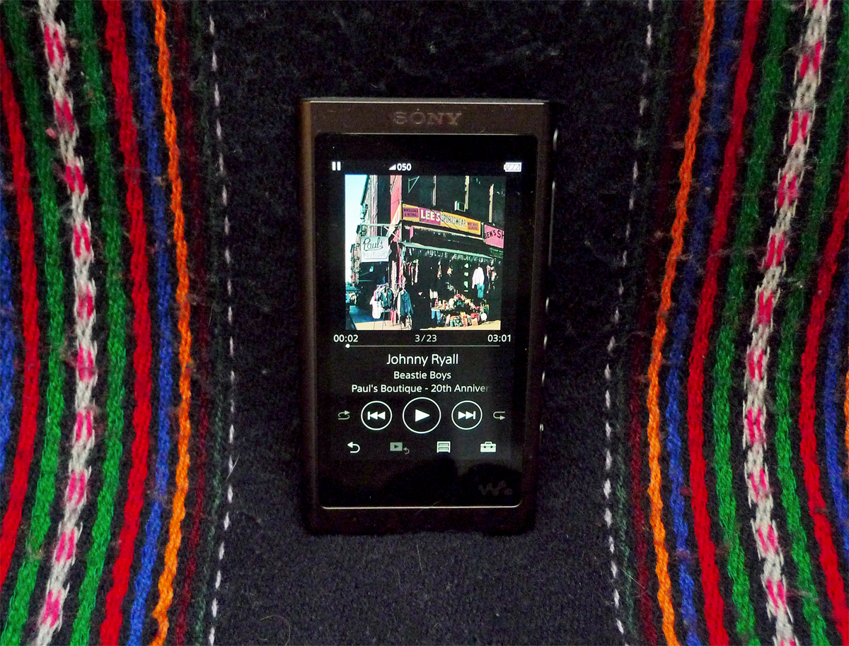 Hands on review: Sony Walkman NW A55L