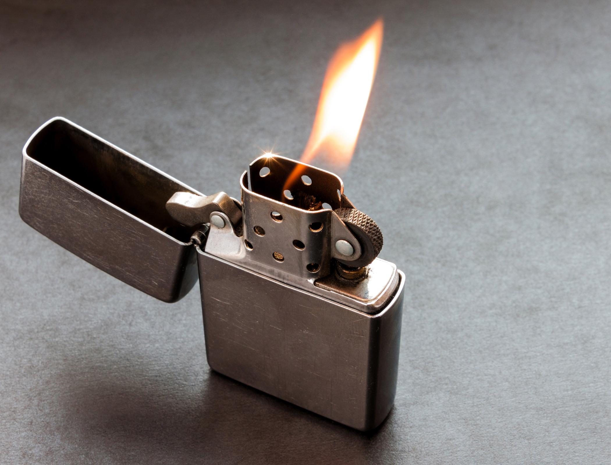 Flame on the story of the classic Zippo lighter