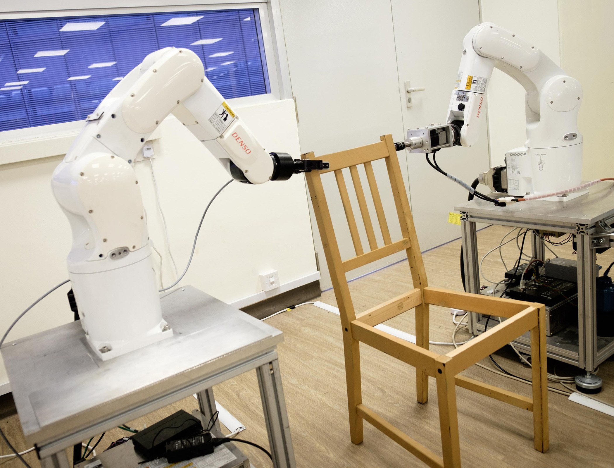IKEA Furniture Self Assembly Tackled By Two Armed Robot