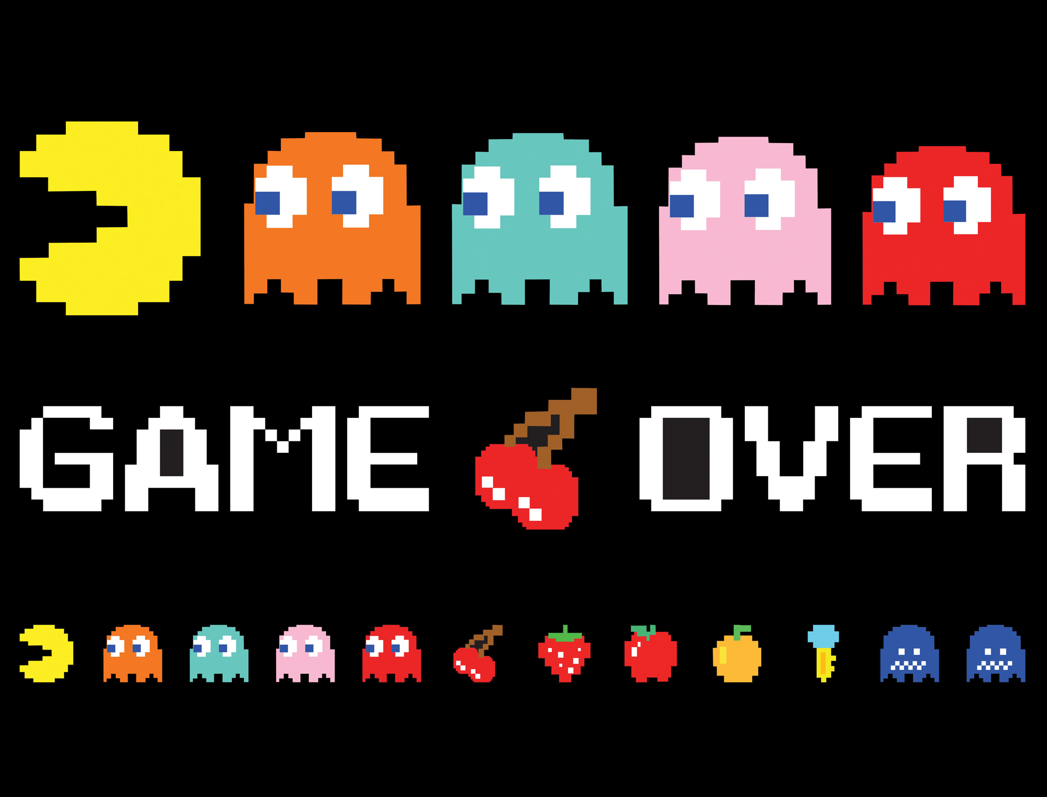 Pac-Man Retro Video Game Throw